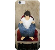 L Lawliet - Death Note iPhone Case/Skin