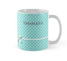 Tiffany & Co. Logo - Quatrefoil Pattern &  Ribbon Mug