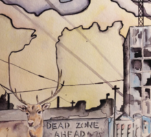 Dead Zone Ahead Sticker