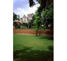 Winchester Cathedral from Outside the Close Wall Photographic Print