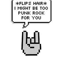 punk rock by Dora Tao