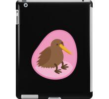 little kiwi bird in the womb iPad Case/Skin