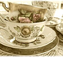 Greta-Lydia's Tea Cups by BlackSwan