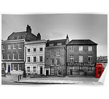 Greenwich High Road Telephone Box Poster