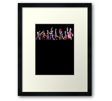 Final Fantasy 9 Characters Framed Print