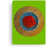 Tomatoes are Served Canvas Print