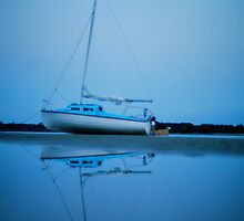 Waiting for the tide by Lachlan Kent