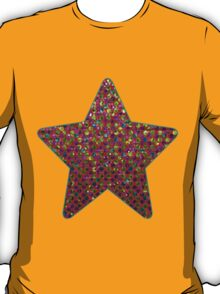 Polka Dot Sparkley Strass T-Shirt