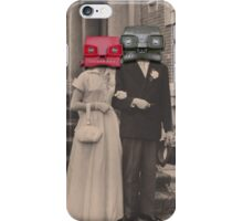 A match (viewmaster) iPhone Case/Skin