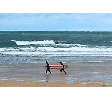 The Surfs Up Photographic Print