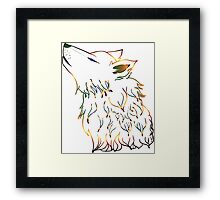 Howling Wolf 3 Framed Print