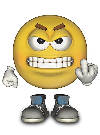 Angry Emoticon - Bing images