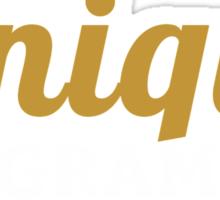 programmer : i am a unique programmer Sticker