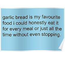 Scott Pilgrim - Garlic Bread Poster