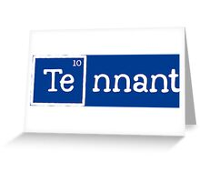 Tennant, the 10th Element Greeting Card