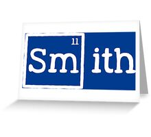 Smith, the 11th Element Greeting Card
