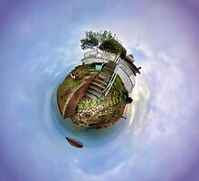 East Brother Island - Little Planet by randymir