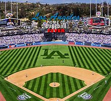 Dodger Baseball by don thomas