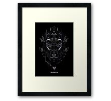 Soundwave Framed Print