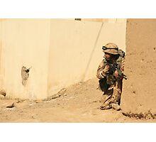 patrol in sangin Photographic Print