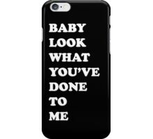 One Direction Stockholm Syndrome / black iPhone Case/Skin