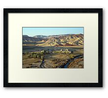 In early morning (Afghanistan) Framed Print