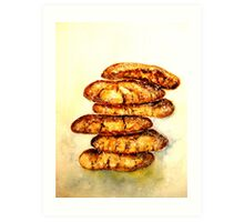 Delicious...Spicy Chewy Ginger Cookies Art Print