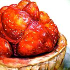Delicious ..Strawberry Tart by © Janis Zroback