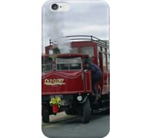 Elizabeth, Steam Bus at Whitby iPhone Case/Skin