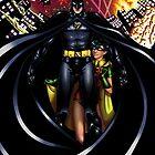 Chaos in Gotham by Hybryda