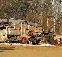 Behind Wilno Station Inn by TerriRiver