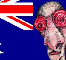 Insomniac Goes to Australia Sticker