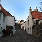 Small Street in Culross by Jackie Wilson