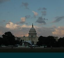 the US Capitol on a pretty night by cameraperson