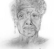 Maya Angelou tribute by CiipherZer0