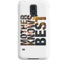 Mother Knows Best (Season One) Samsung Galaxy Case/Skin