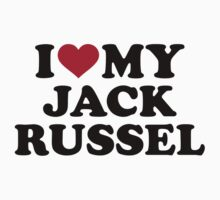 I love my Jack Russel by Designzz