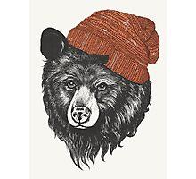 zissou the bear Photographic Print