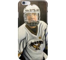 """Hockey Player""  iPhone Case/Skin"