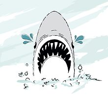 Crying Shark by HenryWine