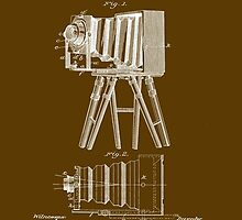 1885 View Camera Patent Art by Barry  Jones