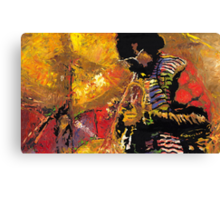 Jazz Miles Davis 2 Canvas Print