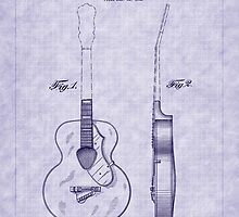 1941 Gretsch Guitar Patent by Barry  Jones