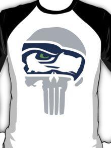 Seahawks Skull  T-Shirt