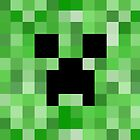 Creeper face - Minecraft by janeemanoo