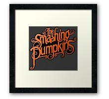 The Smashing Pumpkins Framed Print