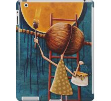 Painting the moon iPad Case/Skin