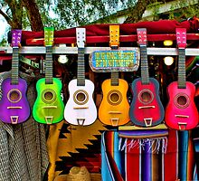 Colorful Mexican Ukeleles by robemkeefe