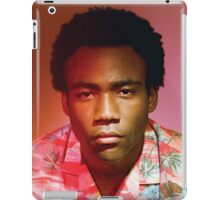 Childish Gambino because the internet album cover untouched iPad Case/Skin