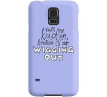 Wigging Out Samsung Galaxy Case/Skin
